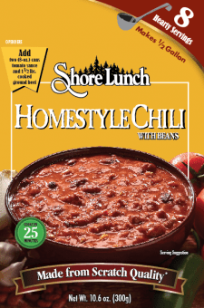Homestyle Chili with Beans Mix