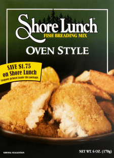 Oven Style Fish Breading Mix