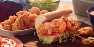 Shrimp Po Boys recipe
