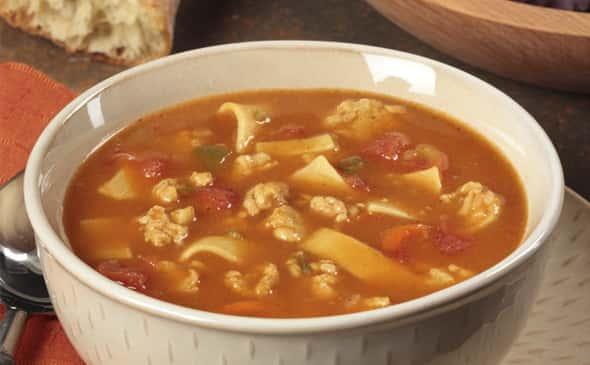Rustic Chicken Noodle Soup
