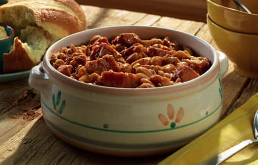 Cassoulet with Smoked Ham