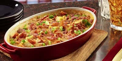 Chicken Loaded Baked Potato Casserole recipe