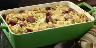 German Potato and Cabbage Bake recipe
