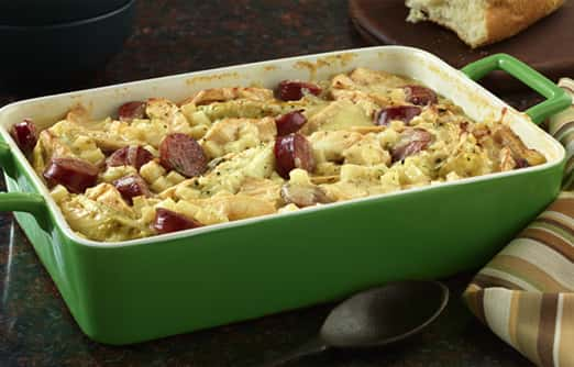 German Potato and Cabbage Bake