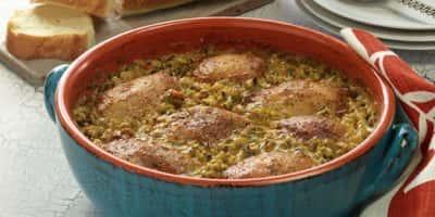 Wild Rice Chicken Bake recipe