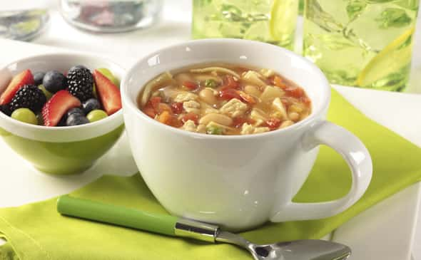 Turkey White Bean and Noodle Soup