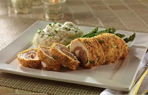 Sausage Stuffed Chicken Breasts